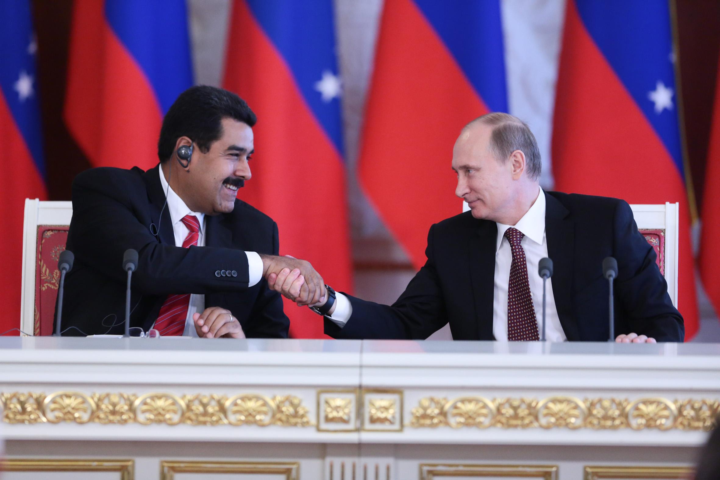 Resultado de imagen para rusia venezuela