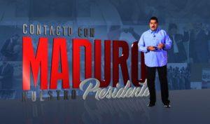 Contacto con Maduro