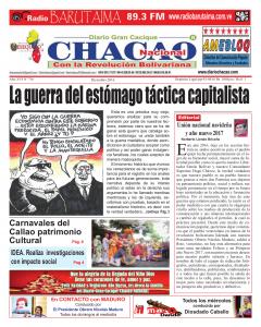 Periodico Gran Cacique Chacao Dic 2016