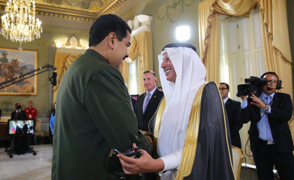 Embajador saudita en Venezuela se despide por la puerta grande