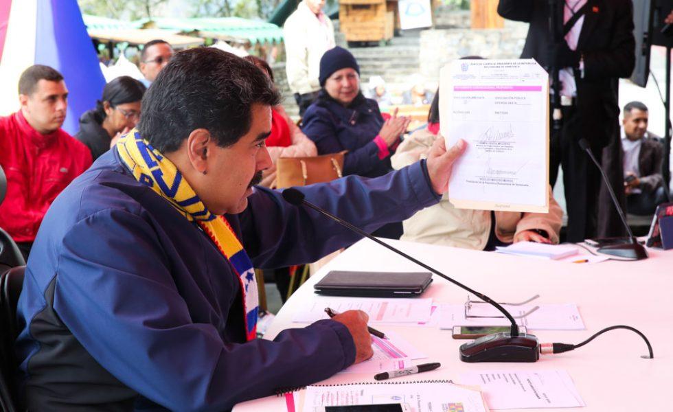 Aprobados 7 mil 152 millones de bolívares a comercios afectados por actos vandálicos de la derecha en El Valle