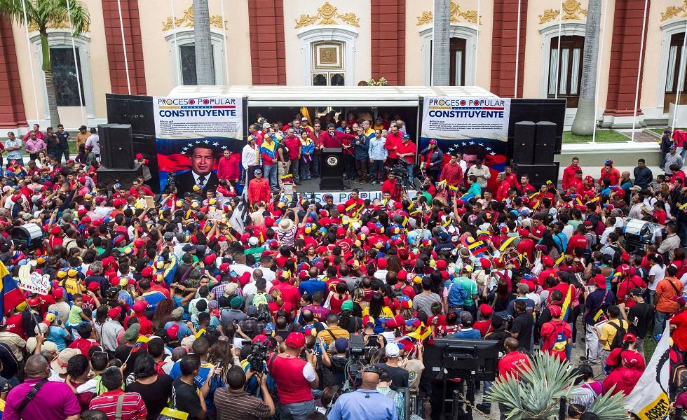Presidente Maduro juramentó comando de campaña para la ANC