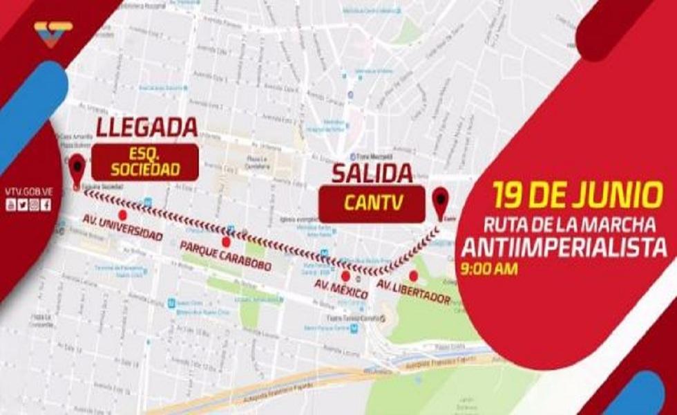 Oficialismo se movilizará este lunes en Caracas en