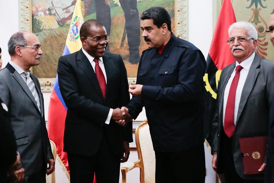 BCV suscribe con Angola acuerdo para desarrollo minero — VENEZUELA