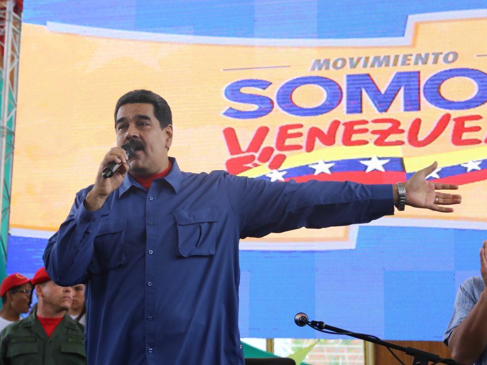 Presidente Maduro responsabilizó alcalde Oscariz de ataque contra sede de VTV