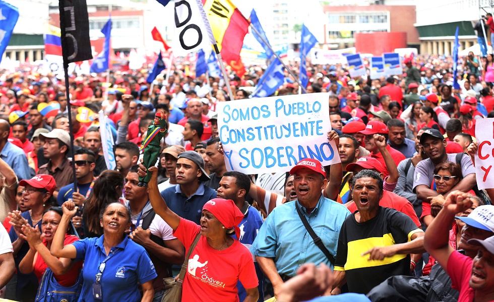 Maduro, ratificado en su cargo, anuncia sanciones drásticas para los manifestantes
