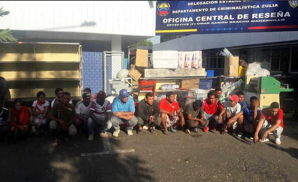 Reverol: Detenidas 210 personas por actos vandálicos en Zulia
