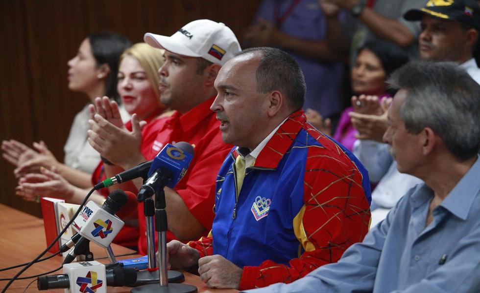 Torrealba: Nosotros no tenemos ningún tipo de fractura o confrontación interna