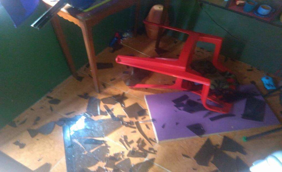 La televisora comunitaria Montaña TV sufrió un asedio este 27 de julio por parte de grupos opositores