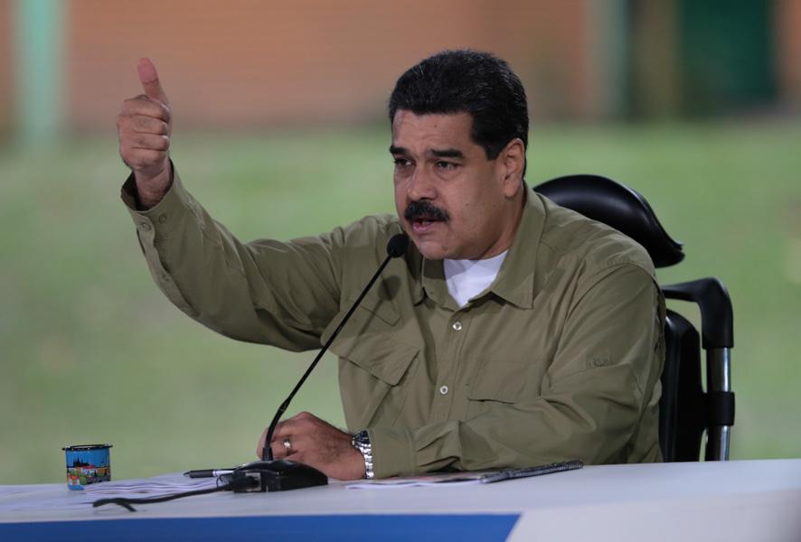 Simpatizantes de Maduro marchan en apoyo a la Asamblea Constituyente