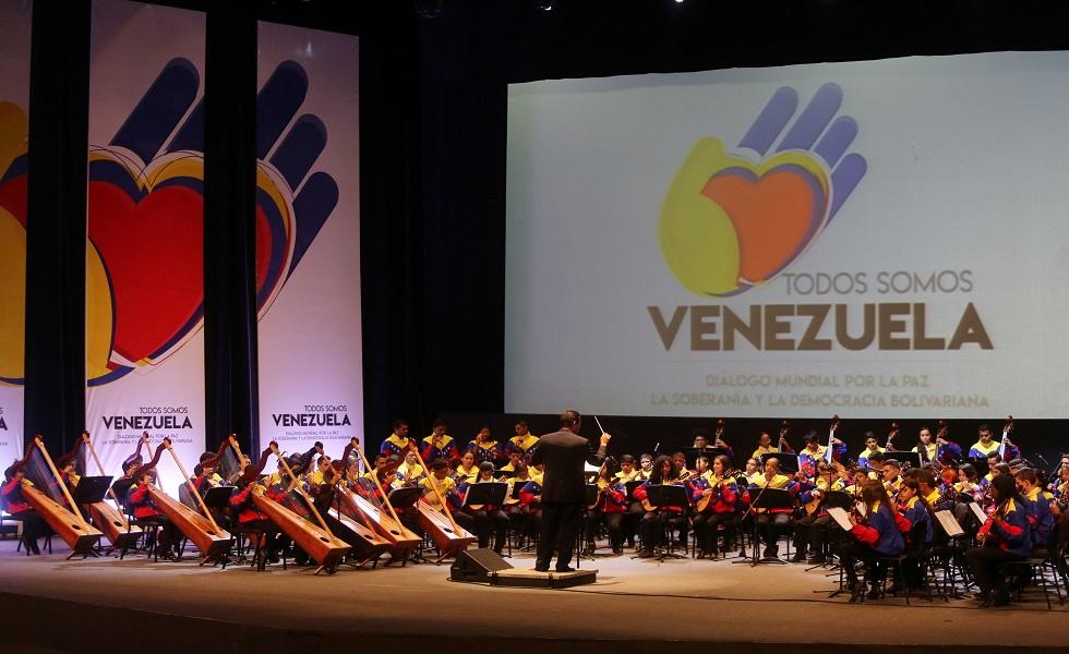Acoge Caracas jornada de apoyo mundial con Revolución bolivariana