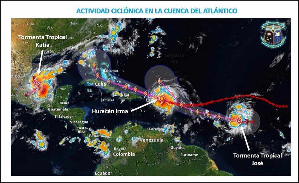 Seguirán tormentas intensas en gran parte del país este domingo y lunes