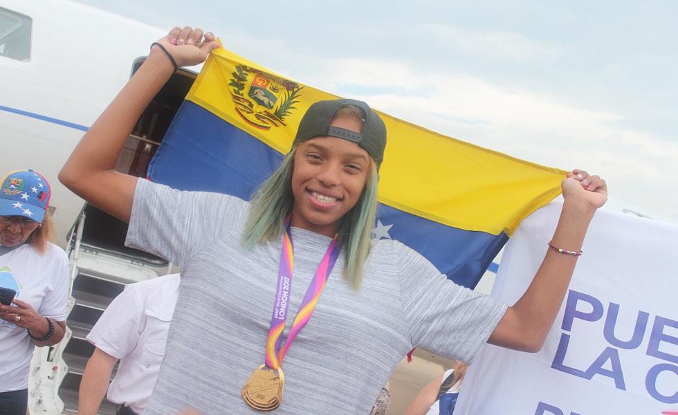 Yulimar Rojas, mejor atleta femenina del año de América