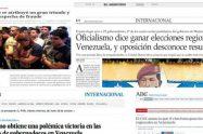 Comunicadores y periodistas rechazan declaraciones tendentes a desconocer los resultados de las elecciones regionales