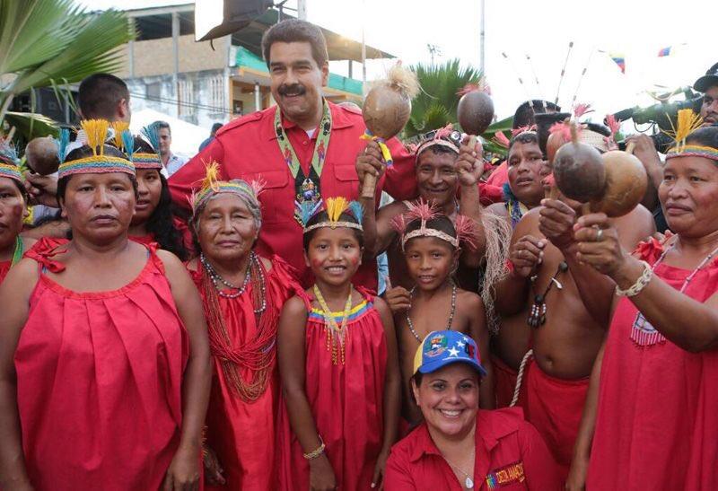 Activan el Plan Chamba Juvenil Indígena en Caracas — VENEZUELA