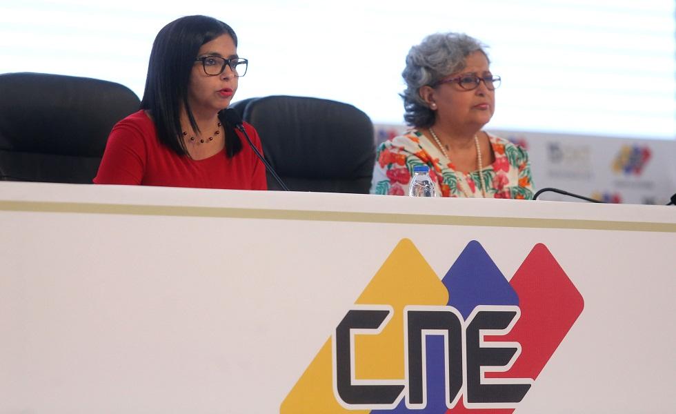 Delcy Rodríguez: Gobernadores electos por CNE deberán juramentarse este martes ante ANC