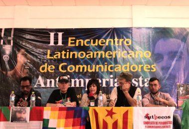 II Encuentro Latinoamericano de Comunicadores Antiimperialistas - red latinoamericana