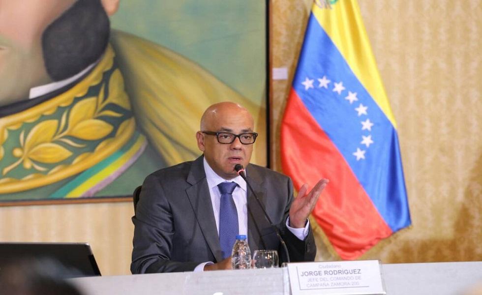 Jorge Arreaza a las cancillerías: No hay excusas en el mundo para cuestionar los resultados de las elecciones regionales