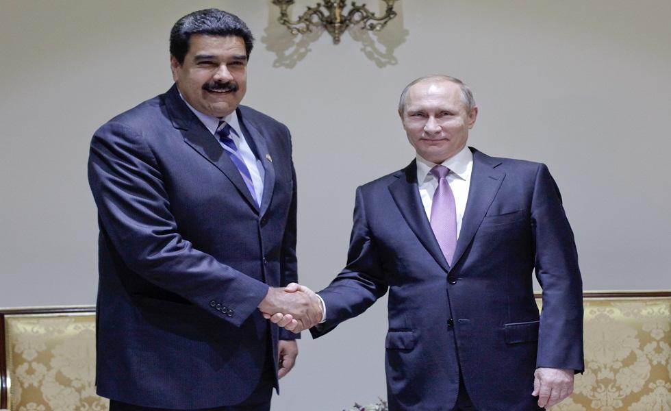 Maduro se reunió con autoridades de Argelia