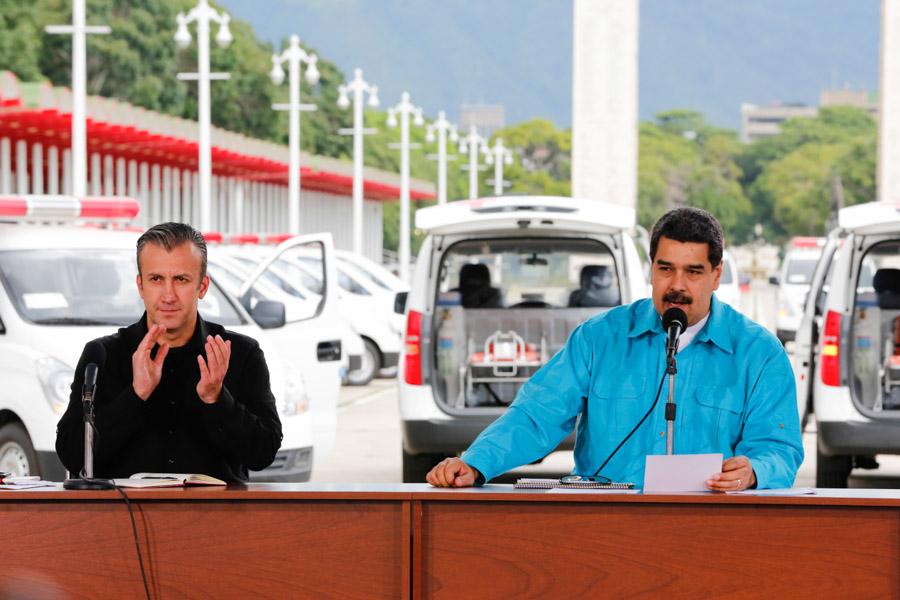 Maduro anuncia refinanciamiento de la deuda externa de Venezuela