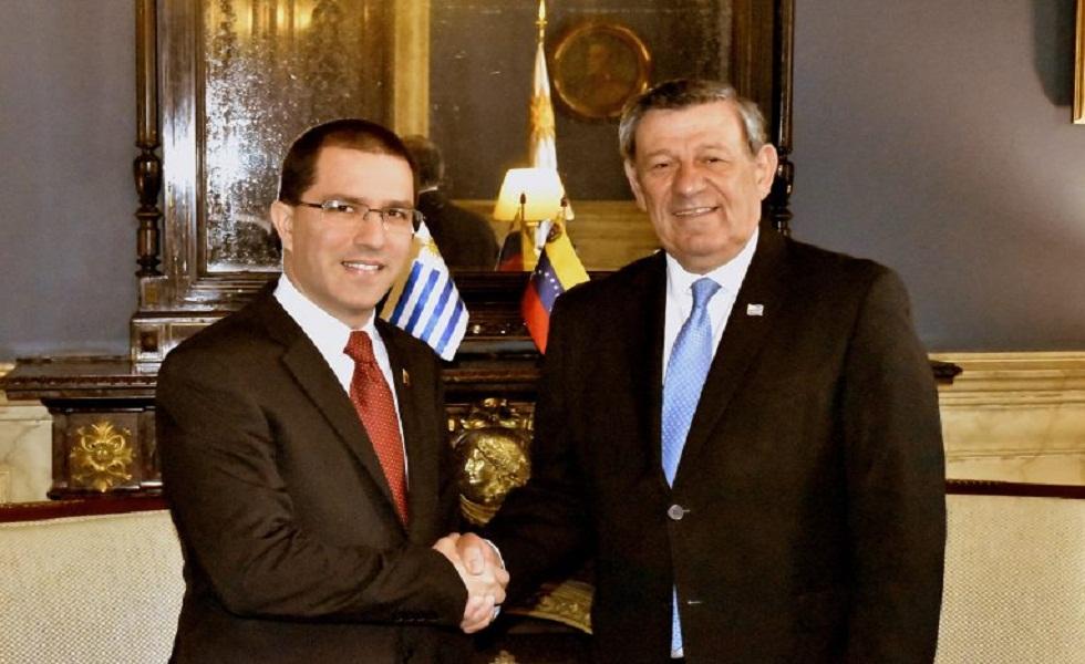 Cancilleres de Uruguay y Venezuela intercambian en Montevideo