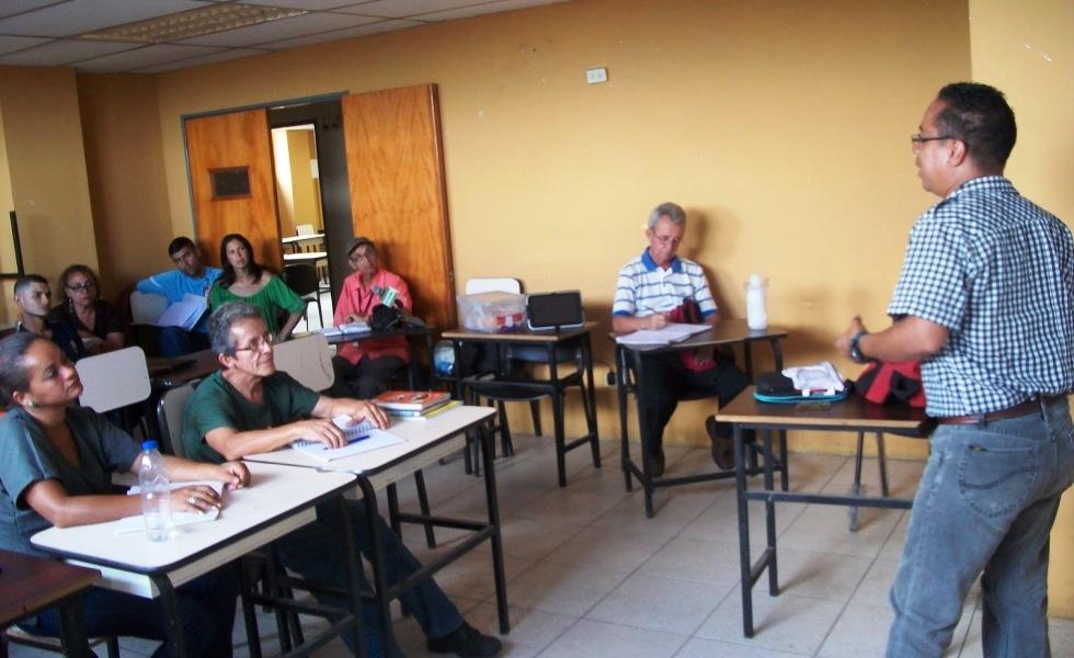 Estudiantes de Comunicación Social de la Aldea Universitaria Hugo Chávez participaron del Diplomado