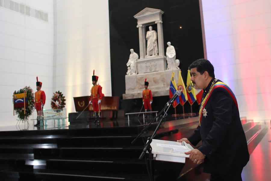 INFOGRAFÍA | Rinden homenaje al Libertador Simón Bolívar