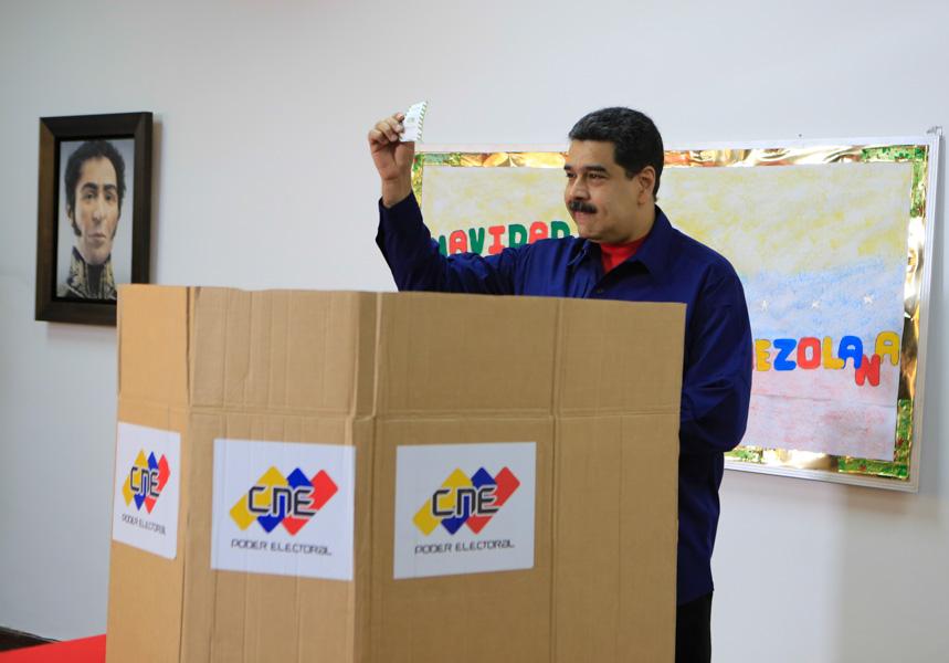 Posicionada en Twitter etiqueta sobre elecciones en Venezuela