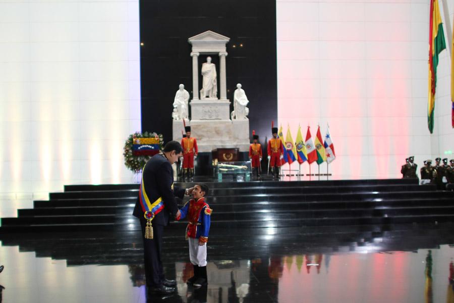 Conmemorados 187 años de la muerte del libertador en el Panteón Nacional