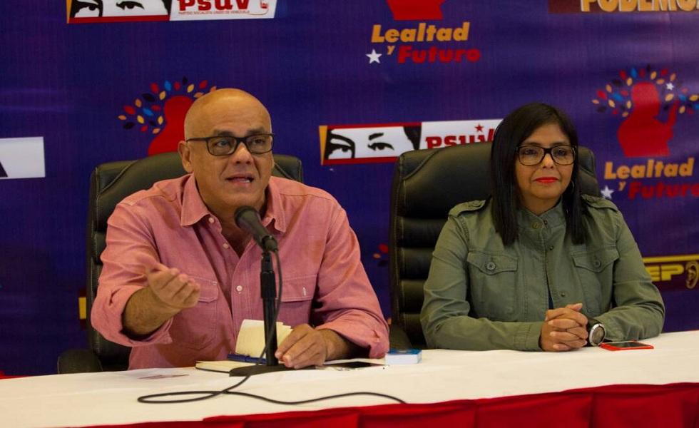 Jorge Rodríguez: Hoy el pueblo de Venezuela está haciendo historia nuevamente