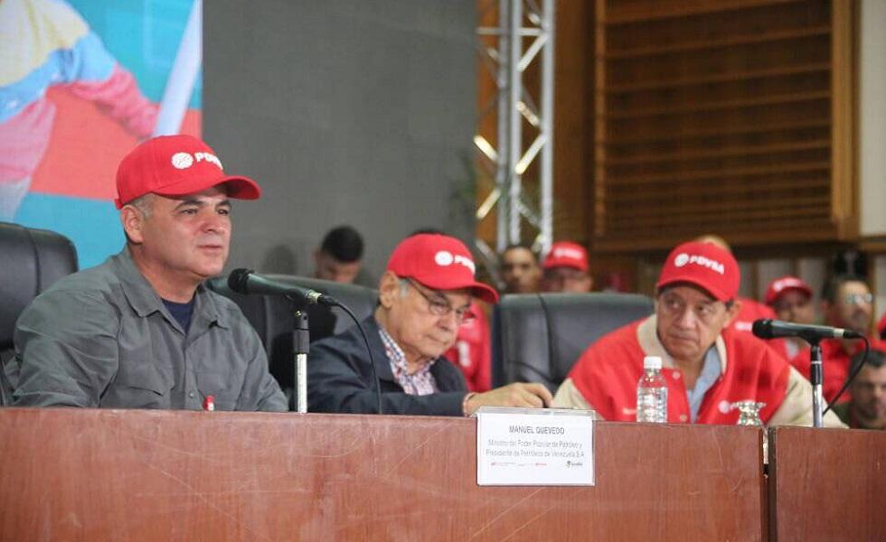 Quevedo solicitó auditoría interna en Pdvsa: No puede haber vagos