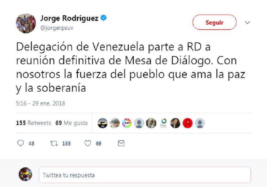 Hoy se reanuda diálogo del Gobierno con la oposición venezolana