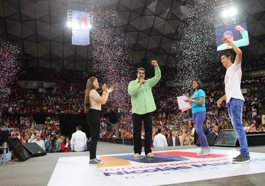 Maduro anuncia la instalación de granjas de criptomonedas en liceos y universidades