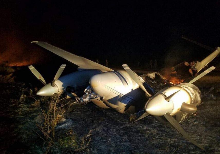 Encontraron dos aeronaves que presuntamente estaban vinculadas al narcotráfico — Venezuela