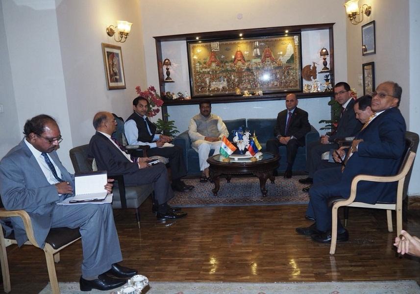 Venezuela e India trazan estrategias para fortalecer inversiones en el sector petrolero