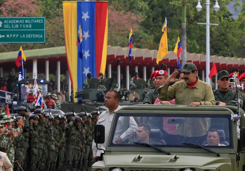 Presidente Maduro celebra Día de la Milicia Nacional Bolivariana