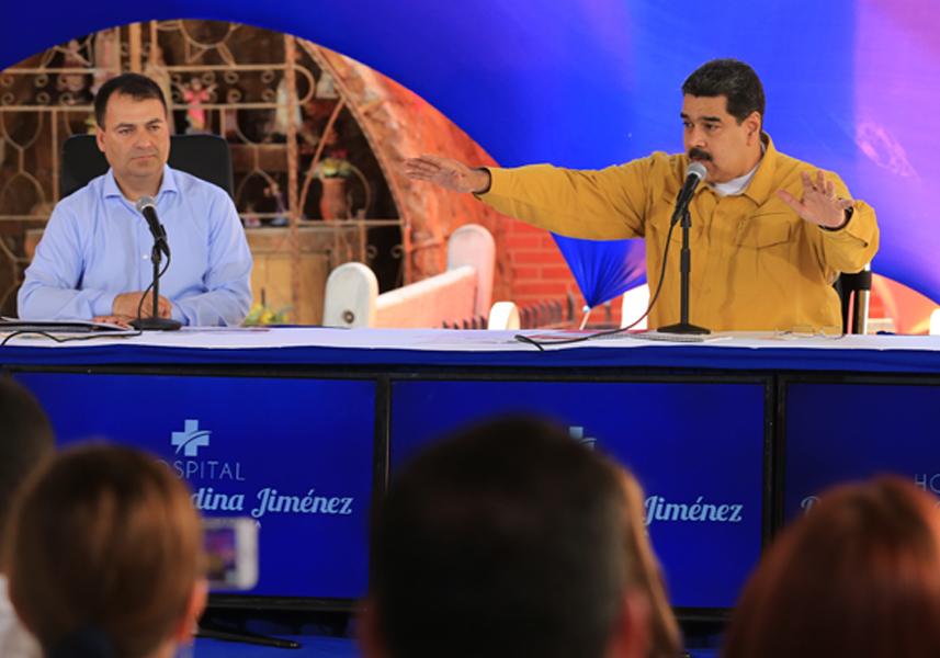 Maduro: Comenzó Plan Nacional de Vacunación contra 14 enfermedades