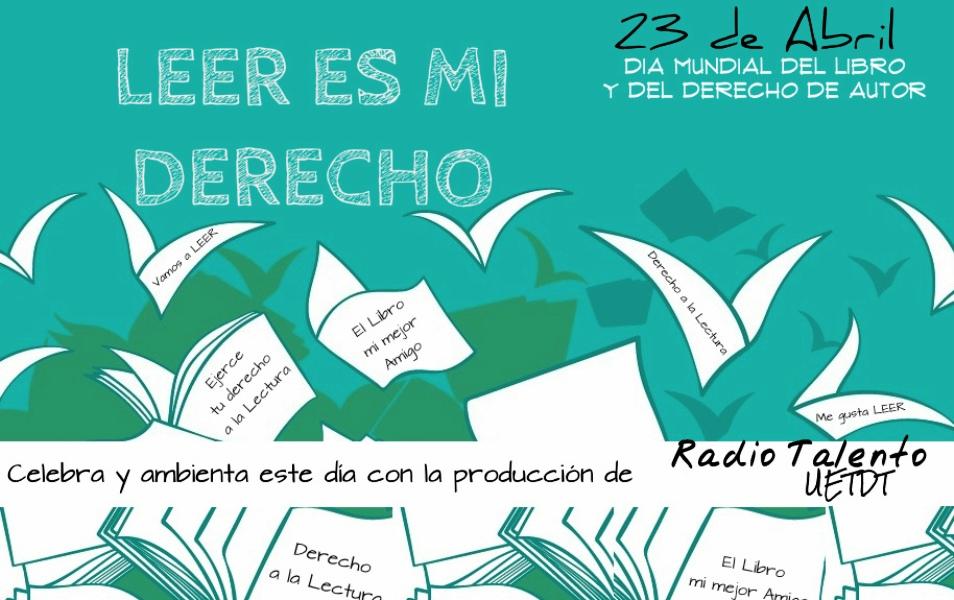 El 23 de abril se celebra el Día del Libro y el Idioma