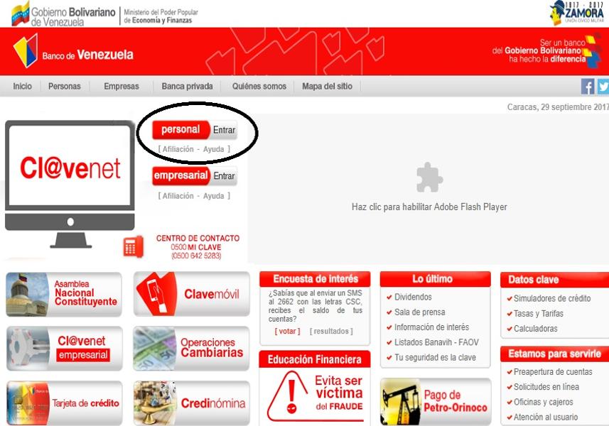 banco de venezuela lanzar nueva plataforma en l nea mippci On google banco de venezuela
