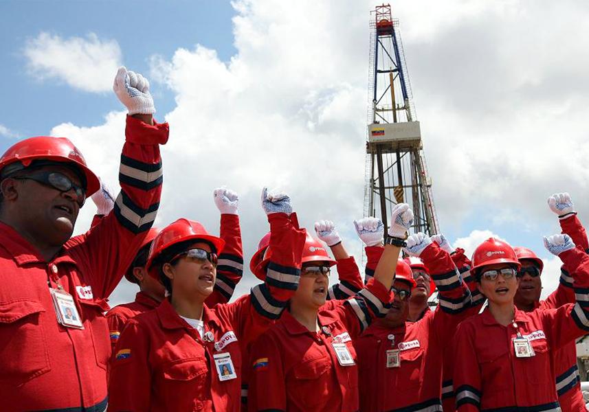 La producción petrolera ha bajado 1.240.000 barriles diarios — Matta